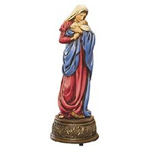MOTHER'S KISS MUSICAL FIGURINE