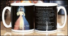 MUG WITH THE DIVINE MERCY CHAPLET