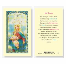 MY ROSARY PRAYERCARD