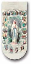 MYSTERIES OF THE HOLY ROSARY BOOKMARK