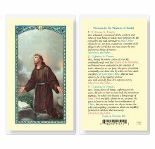 NOVENA TO ST FRANCIS OF ASSISI