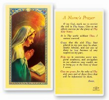 NURSE'S PRAYER CARD