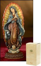 """OUR LADY OF GUADALUPE STATUE 6"""""""