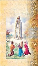 OUR LADY OF FATIMA BIO BOOKLET