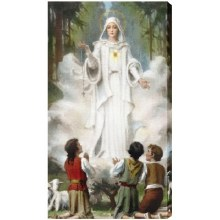 OUR LADY OF FATIMA 10X18 CANVAS GALLERY - WRAPPED PRINT