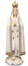 OUR LADY OF FATIMA FULL COLOR STATUE