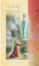 OUR LADY OF LOURDES BIO BOOKLET