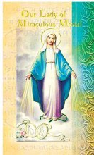 OUR LADY MIRACULOUS MEDAL BIO BOOKLE
