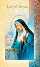OUR LADY OF SORROWS BIO BOOKLET