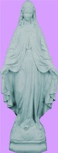 "OUR LADY OF GRACE GRANITE INDOOR/OUTDOOR 24"" STATUE"