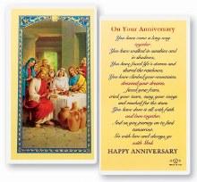 ON YOUR ANNIVERSARY PRAYER CARD