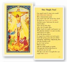ONE SINGLE SOUL PRAYER CARD