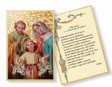 SPANISH HOLY FAMILY MOSAIC PLAQUE