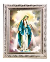 OUR LADY OF GRACE IN DETAILED FRAME