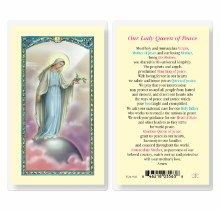 OUR LADY QUEEN OF PEACE WITH DOVE