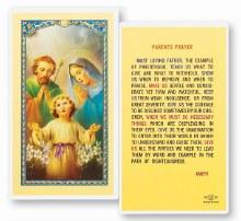 PARENTS PRAYER CARD