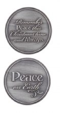 PEACE ON EARTH POCKET COIN