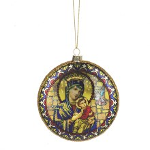 MADONNA & CHILD ORNAMENT