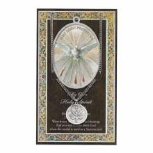 HOLY SPIRIT MEDAL AND FOLDER