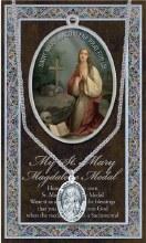 GENUINE PEWTER ST MARY MAGDALENE MEDAL