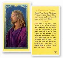 PHYSICIAN'S PRAYER CARD