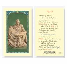 PIETA PRAYER CARD