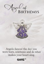 PIN ANGEL OF BIRTHDAYS