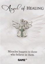 PIN ANGEL OF HEALING