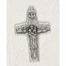 "POPE FRANCIS CROSS 3"" CORDED"