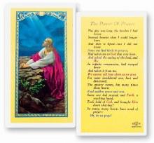 POWER OF PRAYER CARD