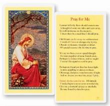 PRAY FOR ME PRAYER CARD