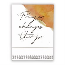 PRAYER CHANGES POCKET NOTEPAD