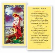 PRAYER FOR A RETREAT PRAYER CARD