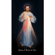 PRAYER FOR DIVINE MERCY, VILNIUS PAPER PRAYERCARD