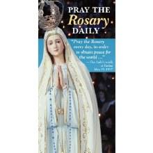 PRAYER THE ROSARY DAILY FATIMA EDITION