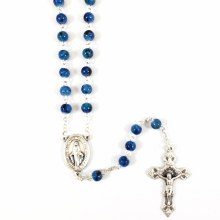 MIRACULOUS BLUE ROSARY