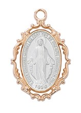 ROSE GOLD MIRACULOUS MEDAL