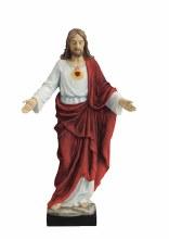 SACRED HEART OF JESUS FULL COLOR STATUE