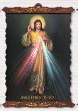 DIVINE MERCY SCROLL PLAQUE