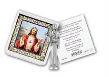 SACRED HEART OF JESUS POCKET STATUE