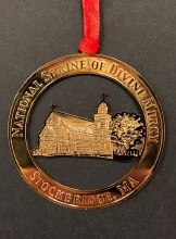 NATIONAL SHRINE OF THE DIVINE MERCY ROUND ORNAMENT
