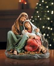SLEEPING HOLY FAMILY FIGURINE