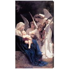 SONG OF ANGELS CANVAS GALLERY WRAPPED PRINT
