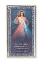 SPANISH DIVINE MERCY PLAQUE