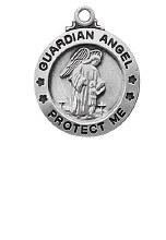 """SS GUARDIAN ANGEL 18"""" CHAIN"""
