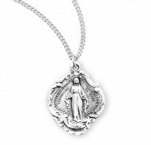 SS FANCY BAROQUE MIRACULOUS MEDAL