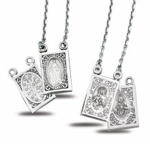 SS SCAPULAR & MIRACULOUS MEDAL