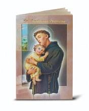 ST ANTHONY NOVENA & PRAYERS BOOKLET