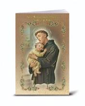 SPANISH ST ANTHONY NOVENA & PRAYERS