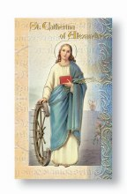 ST CATHERINE OF ALEXANDRIA BIO BOOKLET